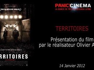 Panic Cinéma - TERRITOIRES - Présentation du film par Olivier Abbou (Réalisateur)