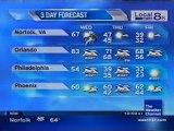 TWC Satellite Local Forecast from November-December 2009 Daytime #10