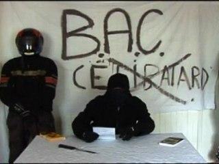 Célibatard(e)s piratés par la B.A.C.