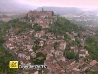 Passage du Tour de France 2011 à Cordes sur Ciel
