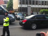 President Obama's Limo Gets Stuck In Ireland