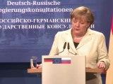 Merkel and Medvedev meet in Berlin