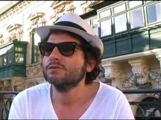 Première Fête de la musique à Malte avec Matthieu Chedid
