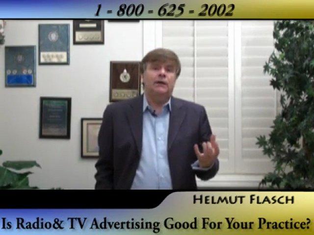 Dental Internet Marketing Consultant Talks About Radio & TV Advertising
