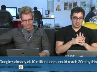 Google +10,000,000 Users Already! - Diggnation