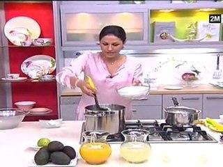 Sirop d'Orgeat aux Amandes et Jus d'Avocats au citron