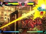 Ultimate Marvel Vs Capcom 3 - Capcom - Vidéo de Gameplay Hawkeye Vs Strider Hiryu