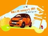 """CLIP Rallye smart Lyon 2011 - 12 ème édition - """"à la campagne"""""""