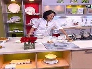 Tarte chocolat et tarte amande
