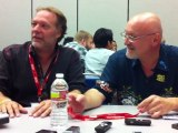Comic Con 2011 - Frank Darabont and Greg Nicotero in The Walking Dead Press Room