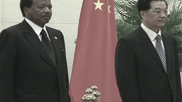 Chinese Leaders Welcome Cameroon President to Strengthen Ties