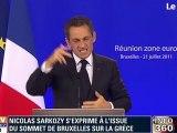 Sarko Trompette - La Grèce sauvée 90 milliards €