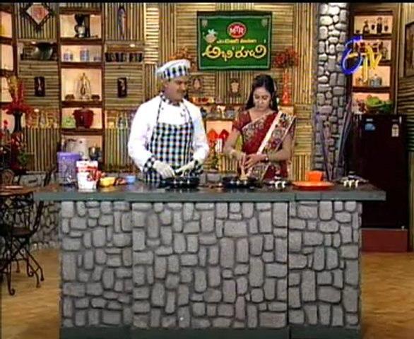 Etv Abhiruchi-Pindi Vantalu,Urinche Vanta,Good food,Sweet Snacks - 01