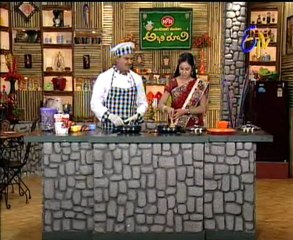 Etv Abhiruchi-Pindi Vantalu,Urinche Vanta,Good food,Sweet Snacks - 01