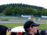 Grand Prix F1 Nurburgring 24 07 2011 Tour de chauffe avant départ