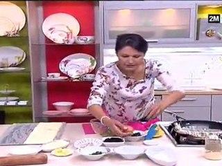Choumicha Cuisine - Jalousie aux légumes et Couronne aux anchois