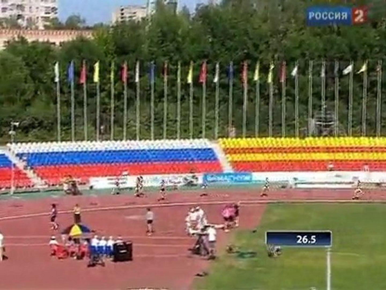 400м с/б Женщины Финал Чемпионат России в Чебоксарах 2011 - www.MIR-LA.com