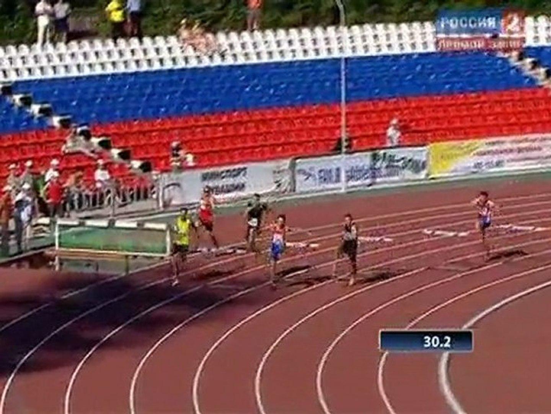 400м с/б Мудчины Финал Чемпионат России в Чебоксарах 2011 - www.MIR-LA.com