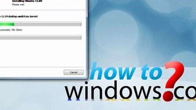 Install Ubuntu in Windows With Wubi