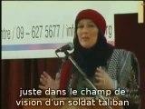 Une journaliste ce convertie a l'Islam après avoir été capturer par les talibans...