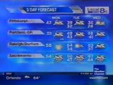 TWC Satellite Local Forecast from January-February 2010 Daytime #10