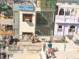15 - Vistas de la ciudad de Udaipur desde la azotea de Niwas guesthouse - Viaje a India de mochileros