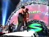 WWE Summerslam 2004 - Undertaker chokeslams JBL through the limo