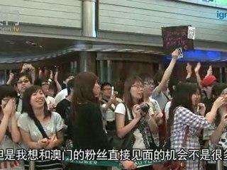 日本超人氣組合AKB48慈善握手會