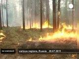 Feux de forêt et canicule en Russie - no comment