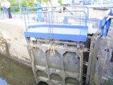 Une porte d'écluse du canal du Centre menaçait de tomber à l'eau (Montceau-les-Mines)