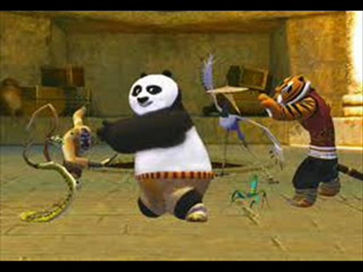 Kung Fu Panda Secrets Of The Furious Five Movie Animated Trailer Hd Dailymotion Video