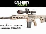 MW3 Tips & Tricks: Barrett 50 Cal vs AS50 - The BEST Sniper