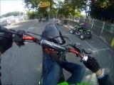 Quartier-946 - YOYO 94 : P'tit wheeling en Yamaha 80 BW'S (test GOPRO HD)