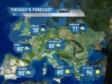 European Vacation Forecast - 07/30/2011