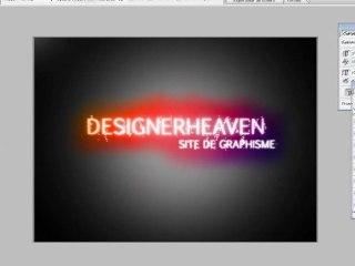 Créer un texte multicolor