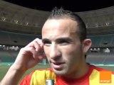 Déclaration joueurs après match EST-AHLY du 30-07-2011