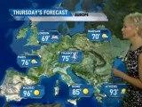 European Vacation Forecast - 08/01/2011