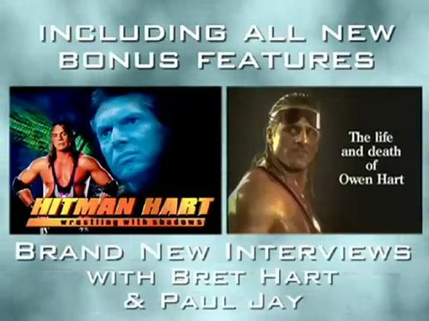 Hitman Hart - Wrestling With Shadows (10th Anniversary Collectors Edition) + The Life and Death of Owen Hart