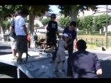 LEZ'ARTS de la rue 8 (Auch - 32) journée des cultures urbaines : foot freestyle hiphop breakdance graff sk8 basket etc...