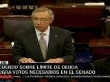 Senado de EE.UU. aprueba acuerdo sobre techo de deuda
