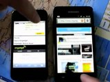 Samsung Galaxy S2 vs iPhone4   by efcell.net