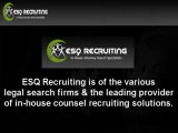 ESQ Recruiting LLC - Trusted Legal Search Firms