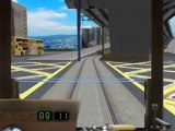 OpenBVE -  香港電車 Hong Kong Tramways(跑馬地電車站 - 堅拿道天橋)_(360p)