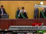 Mubarak presente in aula per processo a suo carico