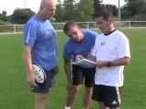 Reprise de l'entraînement au Rugby club de Vannes