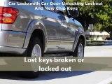 Car Locksmith car door unlocking lockout & new chip keys
