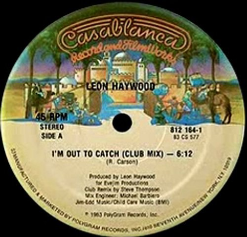 80's Funky Boogie Music - Leon Haywood - I'm out to catch 1983