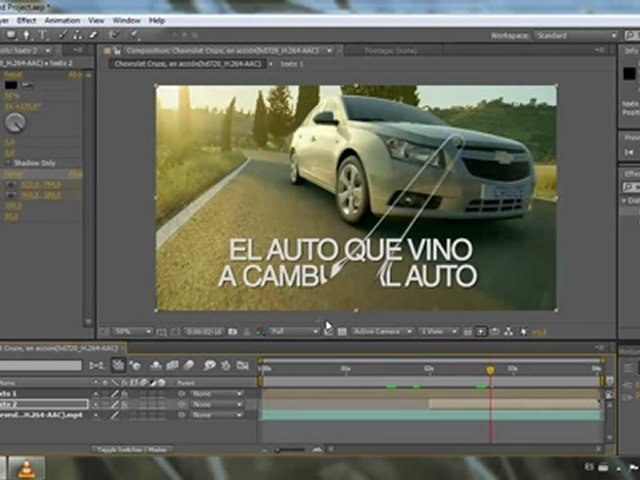 Efecto smear para texto - Tutorial After Effects