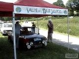 Rallye des 1000 sources 2010 : départ