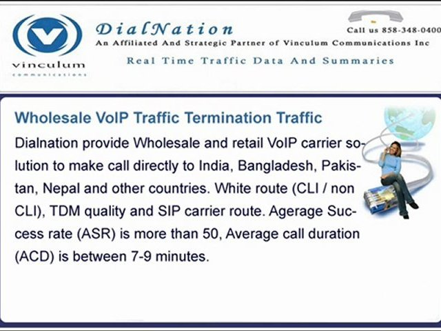 High Quality VoIP Traffic